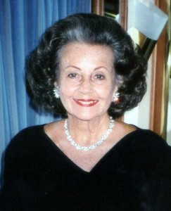 Joyce Walker, 2009 honoree of The Opera Society's Diva-Impresario Awards